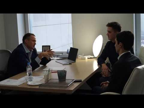 Оскар Хартманн с основателями Moscow network club о важности деловых контактов