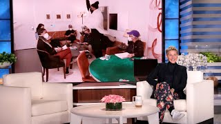 Ellen Unveils Her Thirst Trap, and tWitch Dances into Meetings