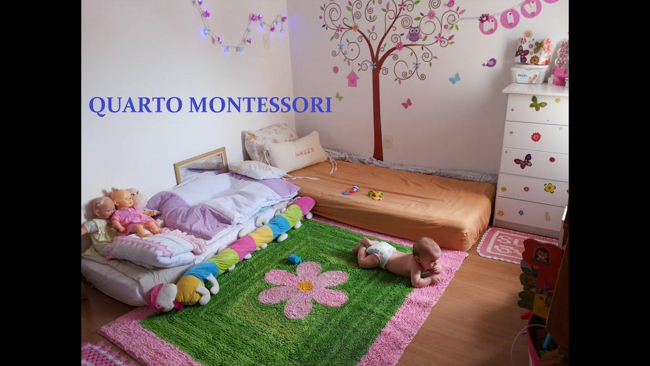 Quarto Montessori Gemeos Redival Com ~ Quarto De Bebê Montessoriano E Quarto Para Adolescentes