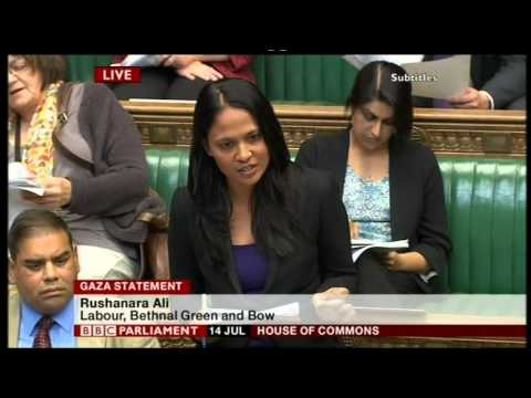 Israel accused of war crimes (UK Parliament)