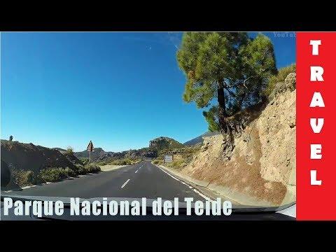 Driving in Tenerife Above the clouds | Vilaflor - Teide - Puerto dashcam