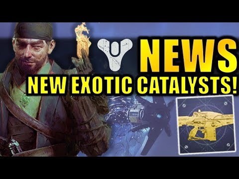 Destiny 2 News: NEW EXOTIC CATALYSTS! Big Clan Changes! | Season 6 Info thumbnail