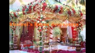 mandap decorations by khaleel
