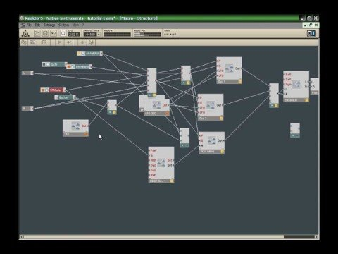 how to use reaktor 5 dvd part 1
