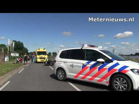 Motorongeval met doorrijder Wanneperveen