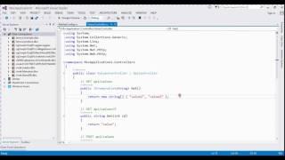 how to create web api in asp.net mvc