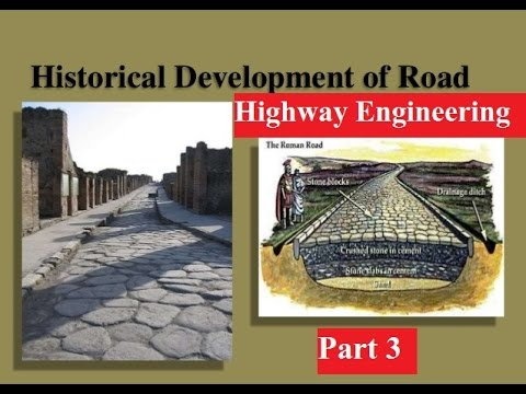 Historical development of road || Highway Engineering ||Road in Ancient India || part 3
