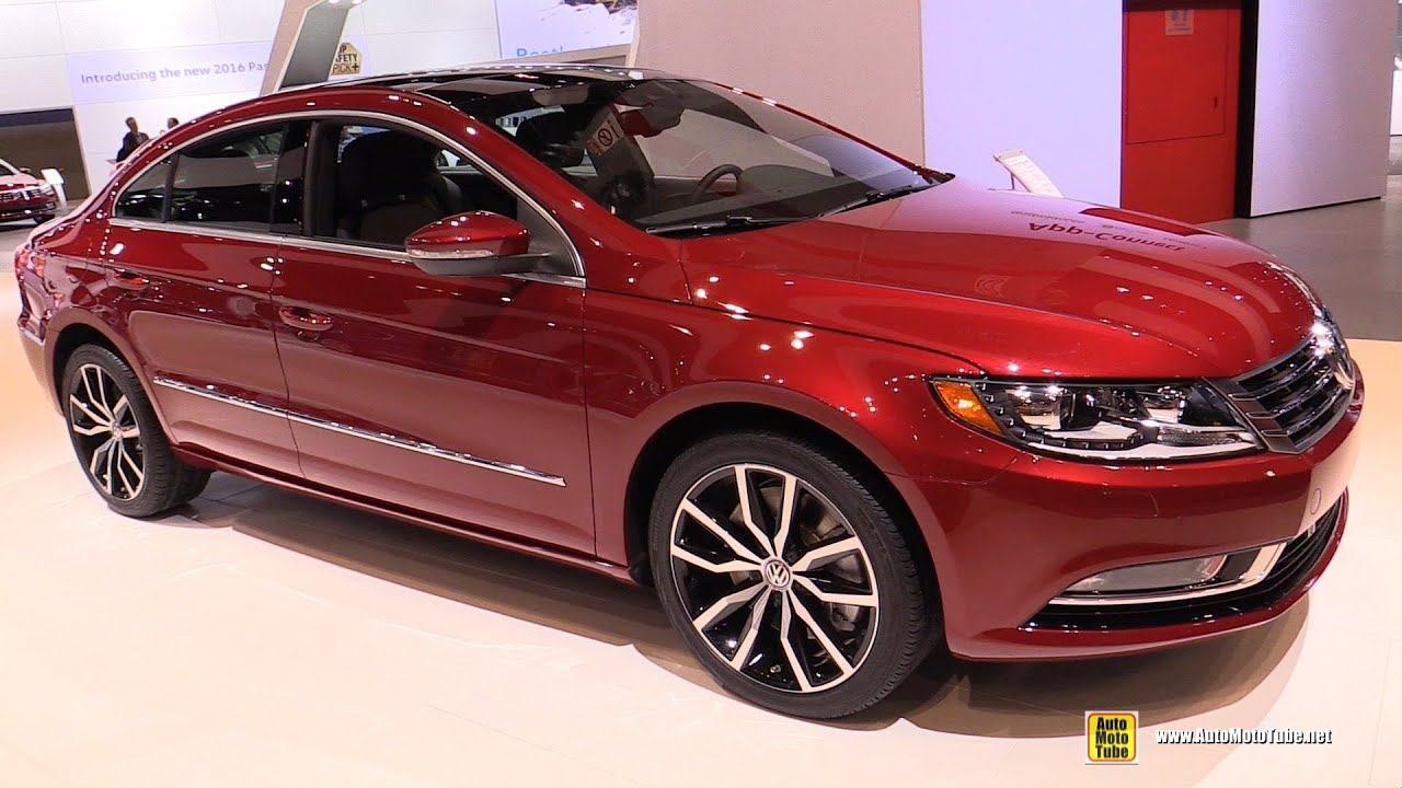 2016 volkswagen cc 3 6l v6 4motion exterior and interior walkaround 2016 chicago auto show. Black Bedroom Furniture Sets. Home Design Ideas