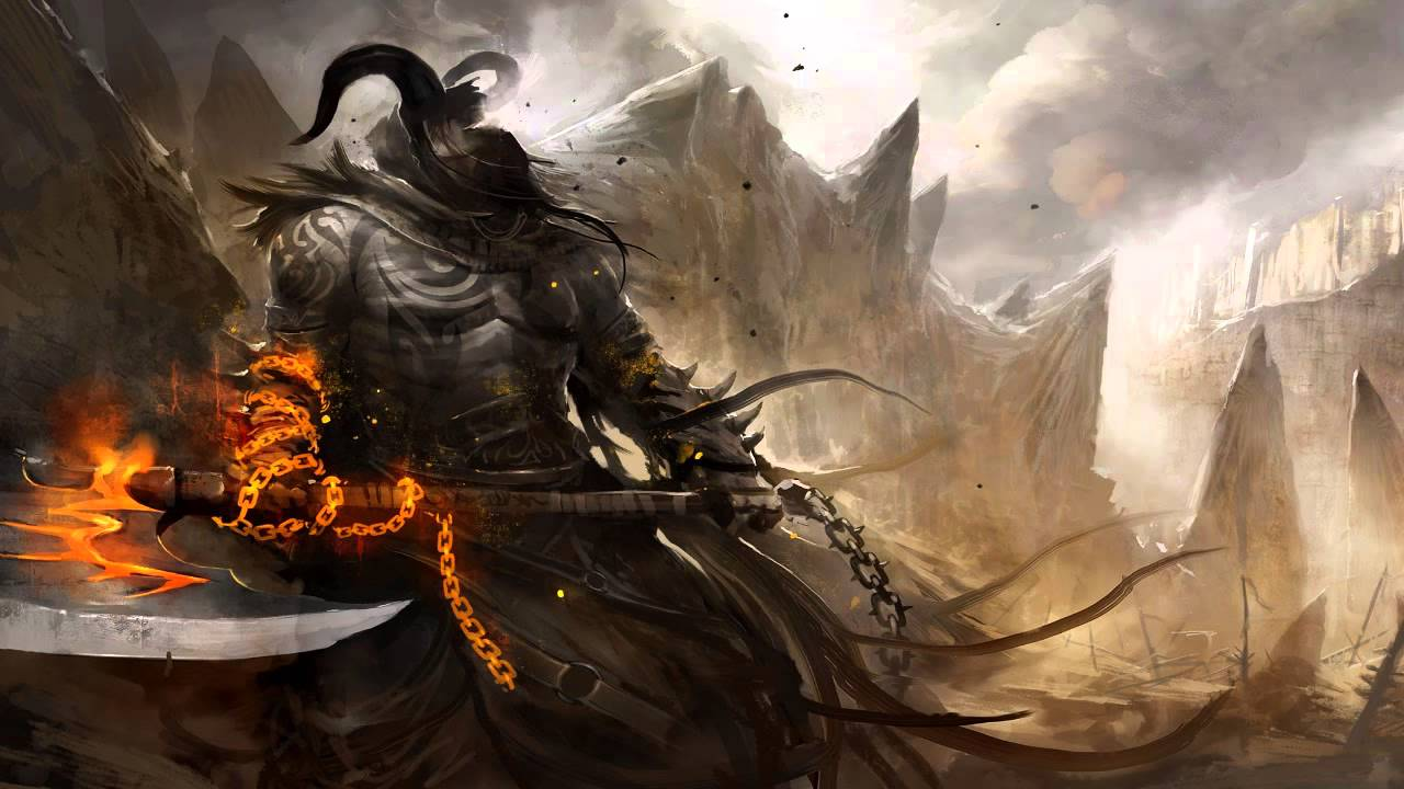 Ninja Fantasy Girl Wallpaper Poseidon Conquer Orchestral Deathstep Free Download