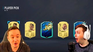 ONE OF MY BEST PACKS EVER, YES! - FIFA 20 Ultimate Team