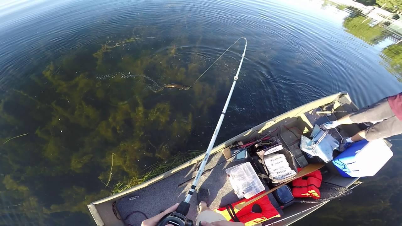 Bass fishing lake minnetonka mn youtube for Lake minnetonka fishing report