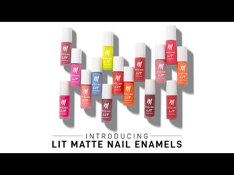 Introducing LIT Matte Nail Enamels | MyGlamm