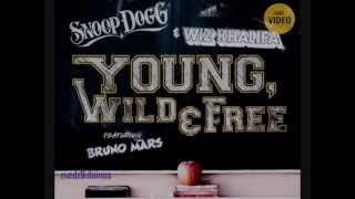 Wiz Khalifa - Young Wild and Free (Clean Version)
