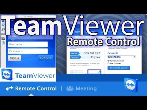 Teamviewer Remote Control Tutorial