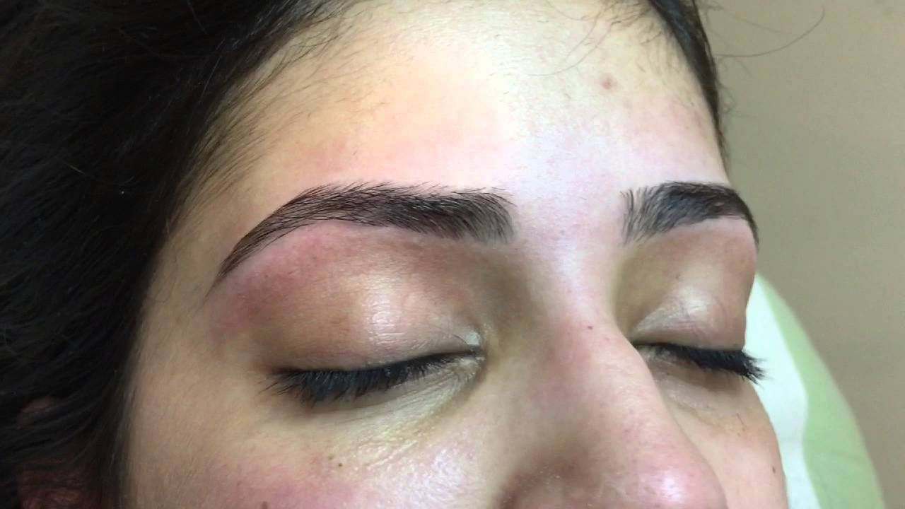 Best video of eyebrow threading