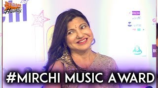 Alka Yagnik At RED CARPET OF 10TH MIRCHI MUSIC AWARDS  Bollymood