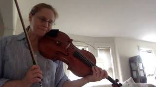 Sheila Browne -vibrato and repull in Brahms E-flat Viola Sonata