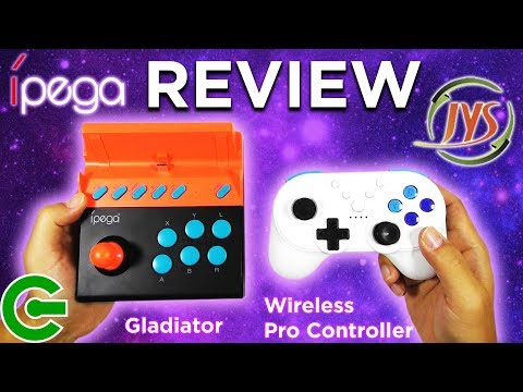 Ipega Gladiator & JYS Wireless Pro Controller for Nintendo Switch REVIEW
