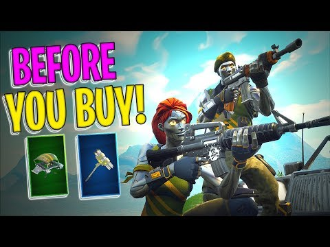 Diecast | Chromium | Persuader Harvesting Tool | Solid Strider - Before You Buy - Fortnite