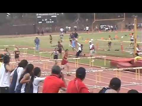 Zhane Santiago Freshman Track Highlights 2008