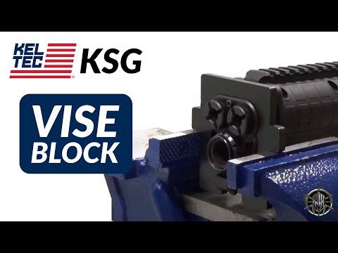 KEL TEC KSG Vise Block - KSG Barrel Nut Removal Tool