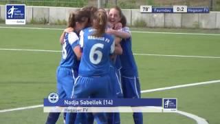 EnBW-Oberliga B-Juniorinnen: FV Vorwärts Faurndau - Hegauer FV