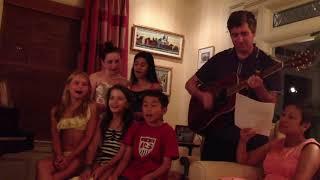 Olympia Dukakis   Grandkids sing to Olympia on her birthday