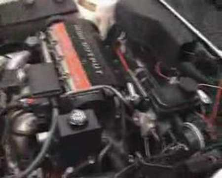 GM Quad 4 engine with beltdrive conversion