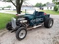 1927 Ford model T roadster pickup with supercharged v8