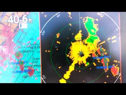 axiom 2 radar tracking weather in port everglades