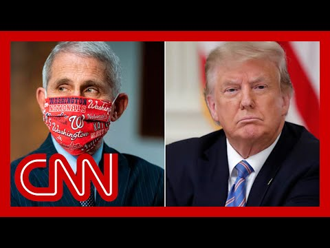 Trump rebukes Fauci: We are in a good place on Covid-19