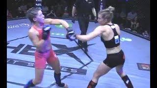 Sarah vs. Alish - (2018.04.28) - [Amateur Fight] - /r/WMMA