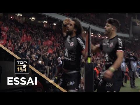 TOP 14 - Essai Yoann HUGET (ST) - Toulouse - Toulon - J13 - Saison 2018/2019