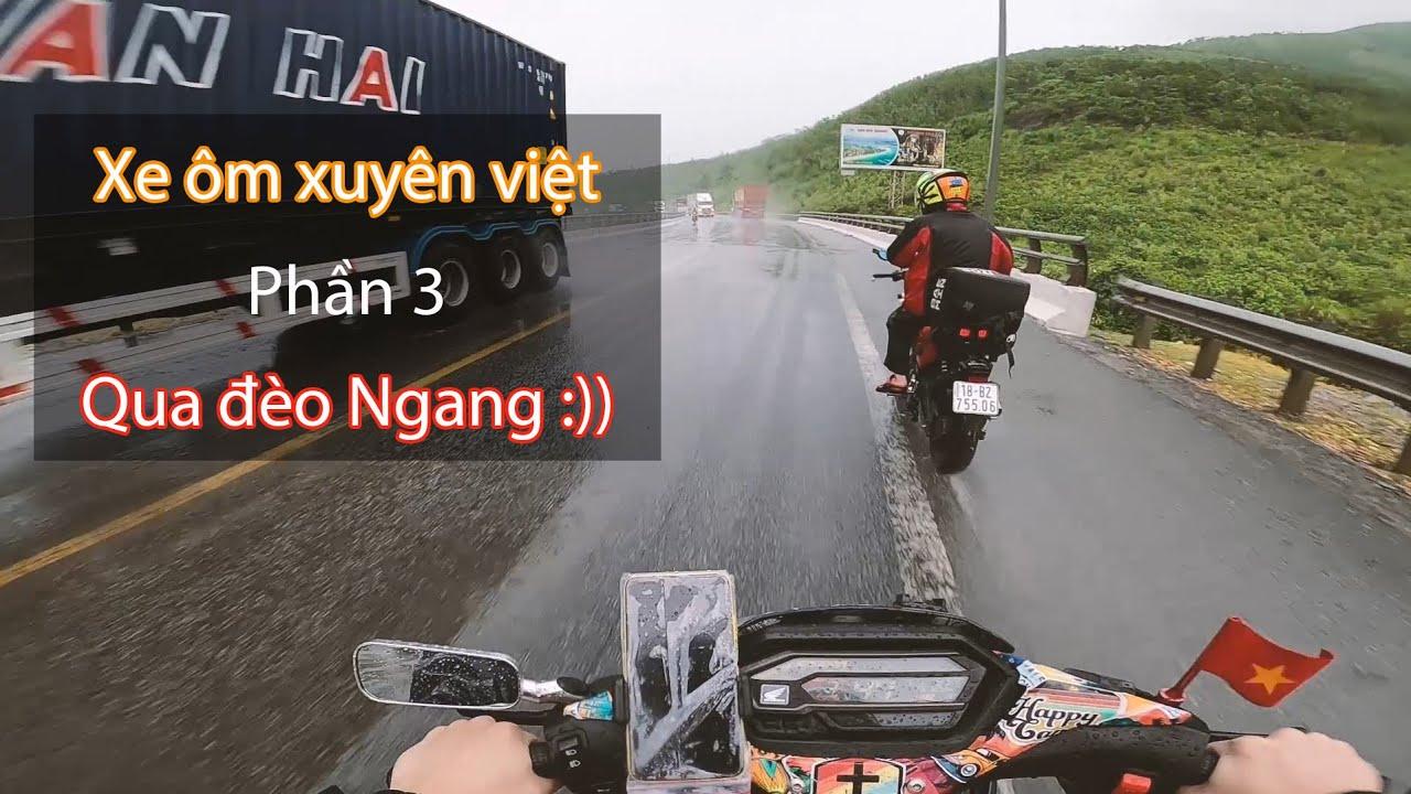 [Xe ôm xuyên việt] P.3 - Đội mưa 400KM với cơn đau bụng =))   Vinh, Hà Tĩnh, Quảng Bình, Quảng Trị
