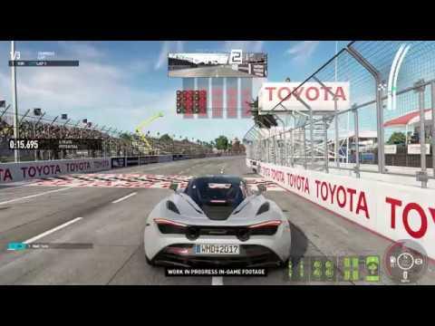 Project CARS 2 - Mclaren 720s Long Beach Gameplay!
