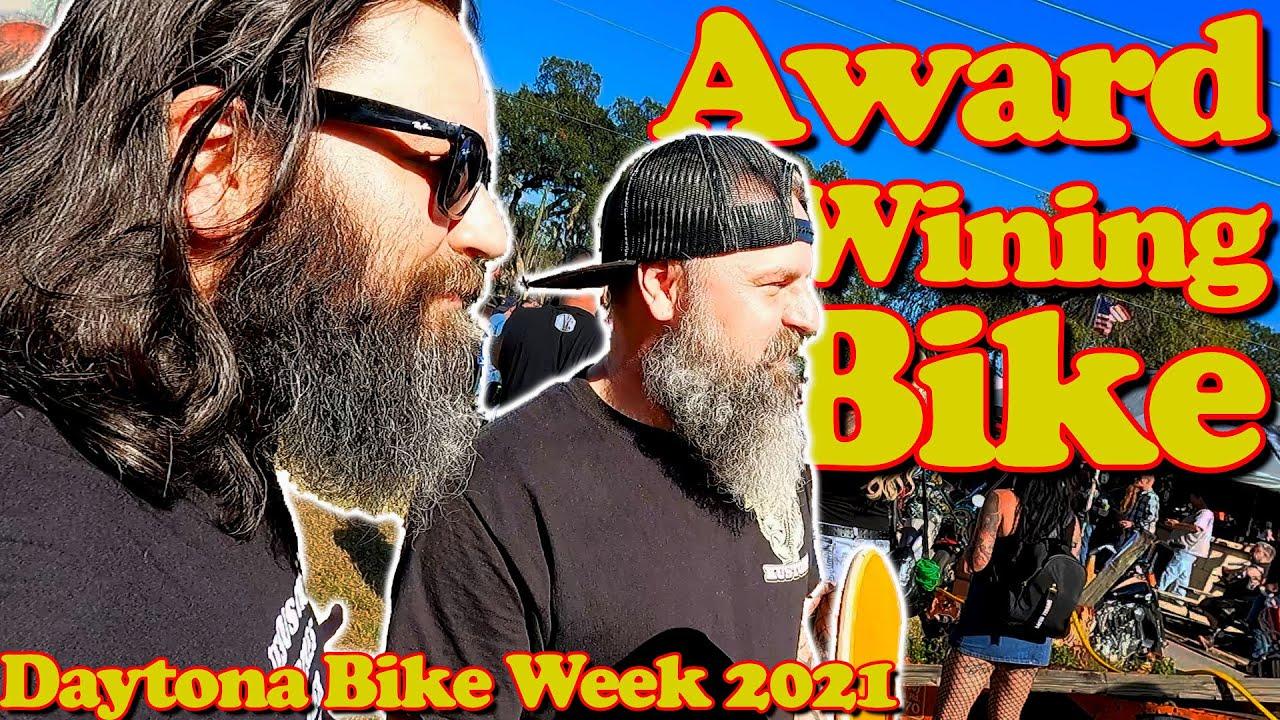 Riding a Daytona Bike Week Award Winning Motorcycle | 2021