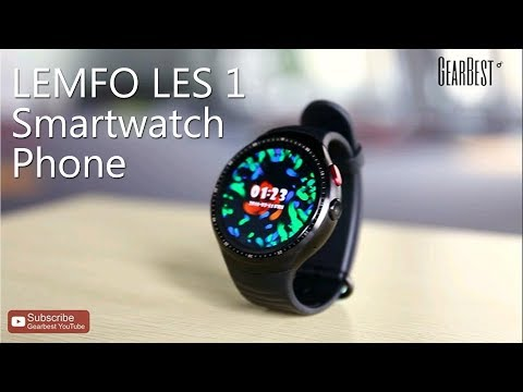 LEMFO LES2 Full Android Smartwatch Unboxing & Overview ...