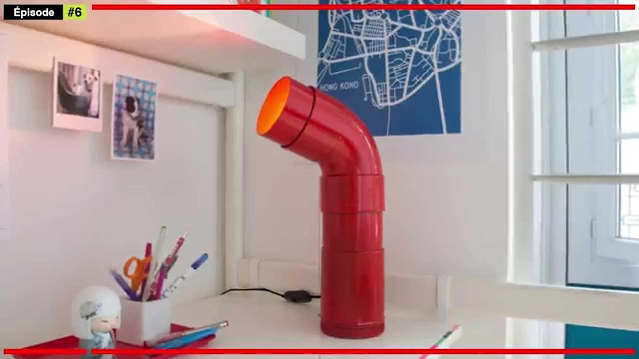 Fabriquer Une Lampe De Bureau Luminaire De Table Youtube