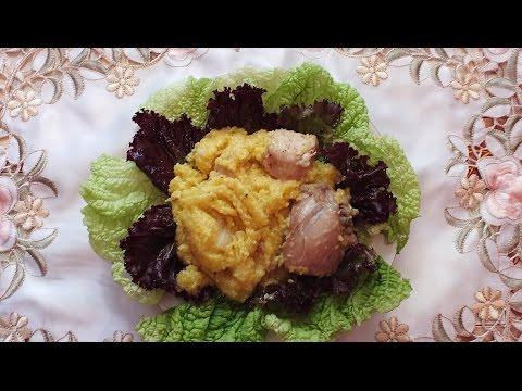 Кукурузная каша в мультиварке с курицей рецепт