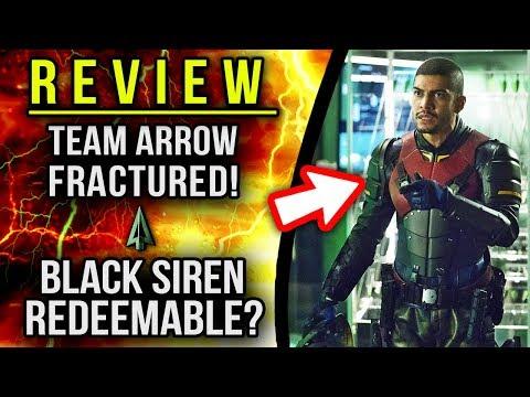 Team Arrow Fractured Black Siren Path To Redemption Teased