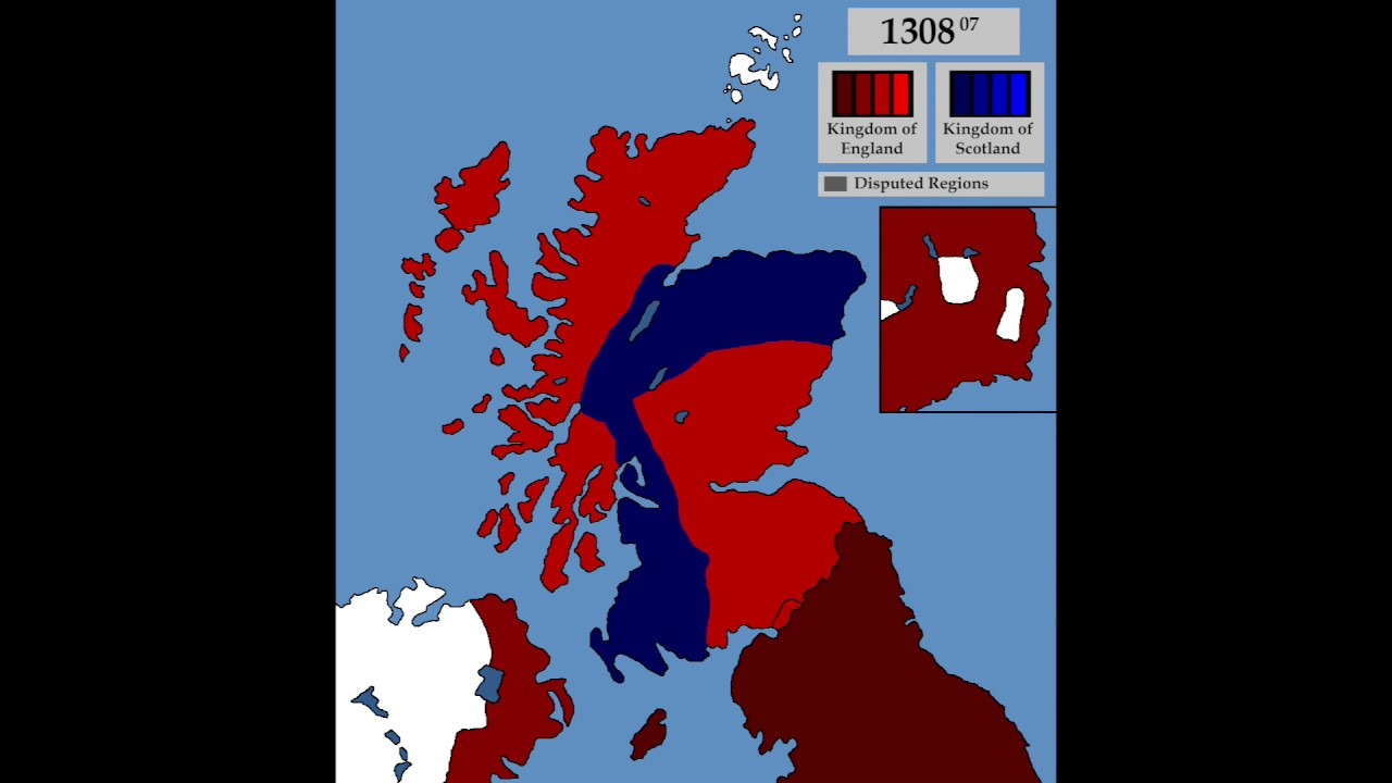 first scottish war of independence 1296 1328 every month youtube