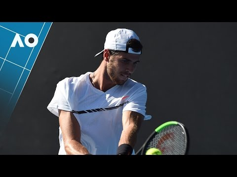 Thumbnail: Khachanov v Mannarino match highlights (1R) | Australian Open 2017