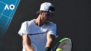 Khachanov v Mannarino match highlights (1R) | Australian Open 2017