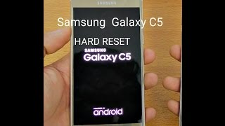 SAMSUNG GALAXY C5 Hard Reset(forgotten password)... Hindi |Urd…
