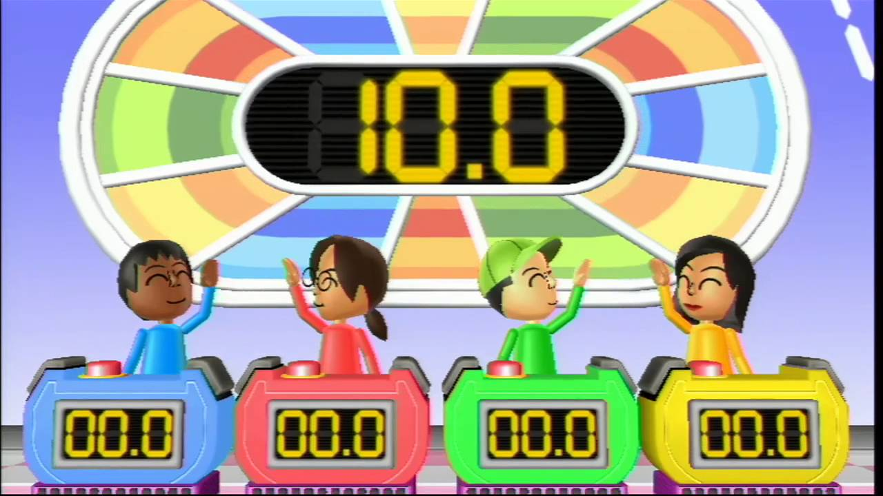 Wii Board Game Island