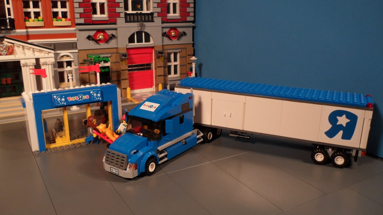 lego 7848 toys r us truck review city youtube. Black Bedroom Furniture Sets. Home Design Ideas