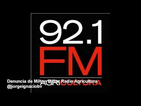 Denuncia de Milton Millas Discriminación a  Deportes en Agricultura(Colombia vs Brazil Copa America)