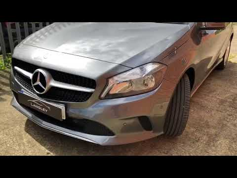 Mercedes Benz A-Class 180d Sport Executive presented by Simon Webb of Langley Prestige Limited, Che