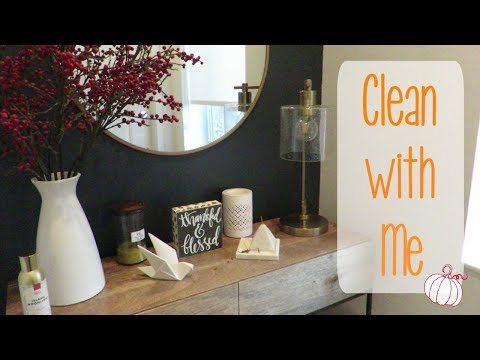 CLEAN WITH ME AFTER WORK  CLEANING MOTIVATION