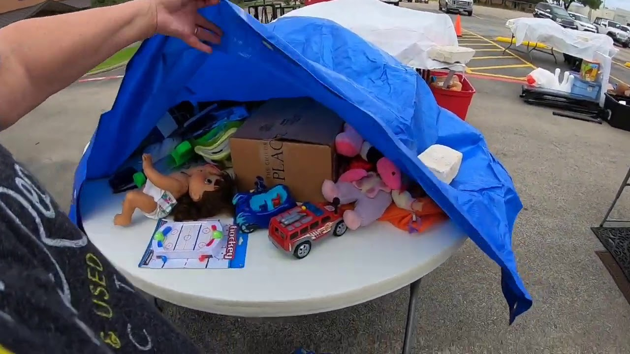 GARAGE SALE - WHAT'S UNDER THERE?